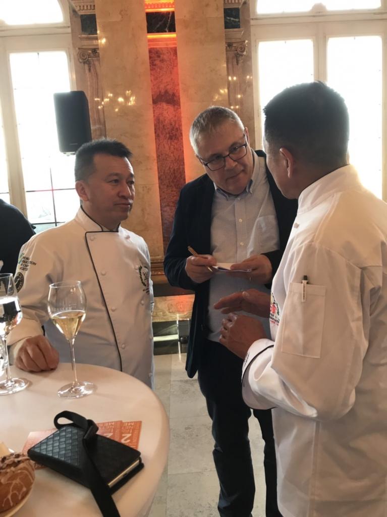 IKA Culinary Olympics(世界料理オリンピック)抽選会